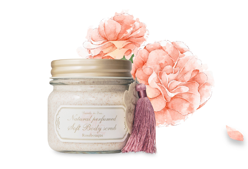 SOFT BODY SCRUB ROSEBOUQUE