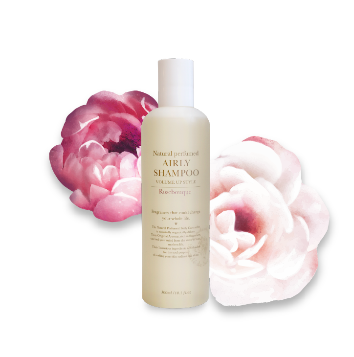 AIRLY SHAMPOO ROSEBOUQUE