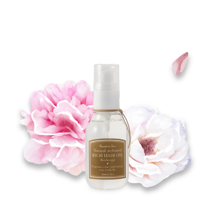 RICH HAIR OIL ROSEBOUQUE